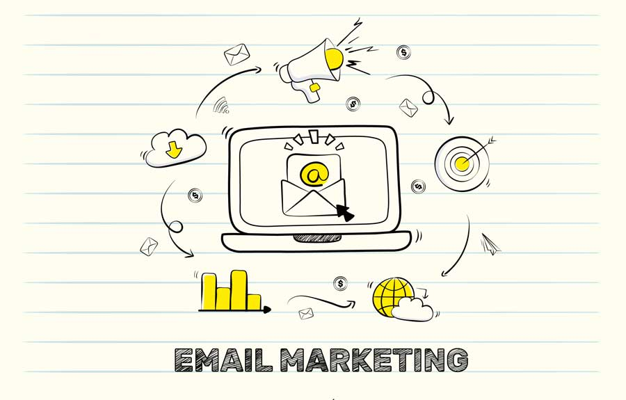 email marketing process and analytics